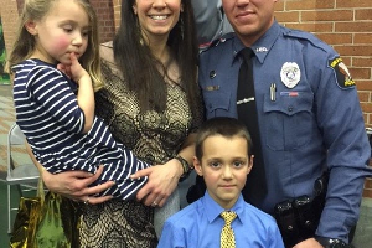 Congrats on Officer Baker's Academy Graduation!